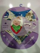 RRP £200 Lot To Contain 40 Brand New Skibz The Original Dribble Bibs (0-3Yrs)