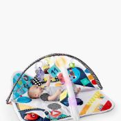 Rrp £100 Bagged Baby Einstein Sensory Play Space Newborn-To-Toddler Discovery Gym With 18 And Over T