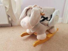 Rrp £100 Nattau Children'S Rocking Donkey