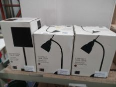 Rrp £110 Lot To Contain Three Box Assorted John Lewis And Partners Designer Lighting Items To Includ
