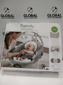 Rrp £80 Boxed Ingenuity Dream Comfort Smartbounce Automatic Baby Bouncer