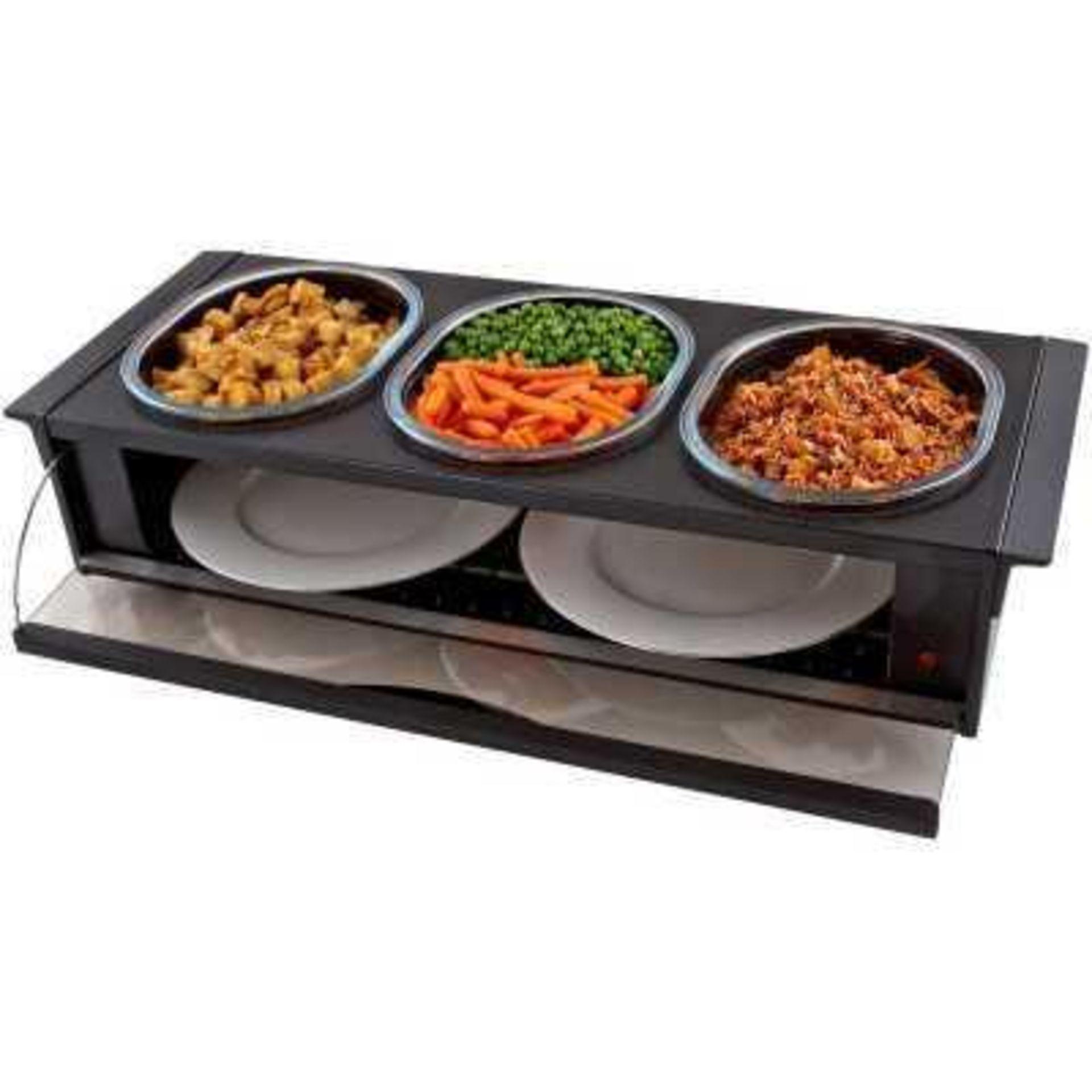 Lot 164 - RRP £120 Boxed Hostess Buffet Server Ho392