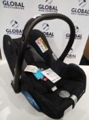 RRP £140 Maxi Cosi Cabriofix In Car Children'S Safety Seat Suitable From Birth In Nomad Black