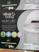RRP £120 Boxed Vital Baby Nurture Pro Uv Bottle Sterilizer And Dryer Which Effectively Kills 99.9%