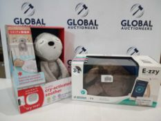 RRP £50 Each Box Assorted Nursery Items To Include Skip Hop Sloth Cry Activated Soother And E-Zzy Th