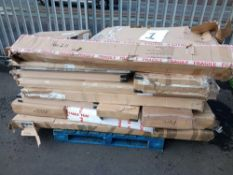 Pallet To Contain A Large Assortment Of Boxed Flat Pack Furniture Part Lots Sourced From Furniture