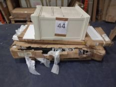 Pallet To Contain 4 Assorted Items To Include A Chest Of Drawers And Bed Part Lots (Appraisals