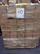 RRP £960 Pallet To Contain Approximately 960 Brand New Emy Bath Sponges (120 Boxes Each Containing