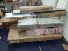 Pallet To Contain An Assortment Of Flat Pack Furniture Bed Partlots (Appraisals Available On