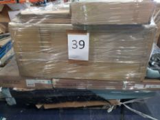 Pallet To Contain An Assortment Of Furniture Part Lots To Include A Tiffany Coffee Table, Harper 4+3