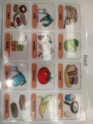 RRP £150 Lot To Contain 30 Brand New Willis Educational Food Vocabulary Boards