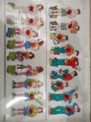 RRP £130 Lot To Contain 21 Brand New Willis Educational White Boy And White Girl Puzzle Packs