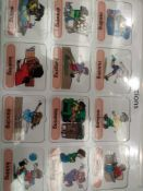 RRP £150 Lot To Contain 20 Brand New Willis Educational Actions Vocabulary Boards