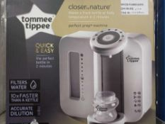 Combined RRP £140 Items To Include Boxed Tommee Tippee Closer To Nature Perfect Prep Machine