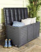 RRP £40 Each Gardenline 300 Litre Garden Storage Box
