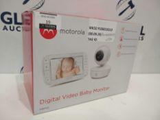 RRP £120 Boxed Motorola Digital Baby Video Monitor