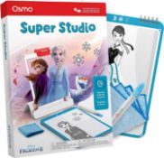 Rrp £60 Lot To Contain 3 Boxed Osmo Super Studio Disney Frozen 2 Packs