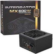Rrp £85 Boxed Aerocool Integrator Mx600W Modular Professional Power Supply