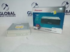 Rrp £75 Boxed Pioneer Dvr-S21L Series Label Flash Dvd/Cd Player