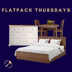 No Reserve - Flat Pack Thursday!!! 17th September 2020