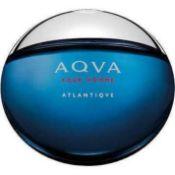 Rrp £100 Unboxed Bottle Of Bvlgari Aqva Put Home Atlantique 100Ml Eau De Toilette (Ex Display)