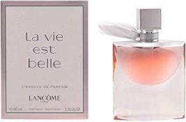 Rrp £100 Boxed Lancomé Paris La Vie Est Belle 40Ml Eau Da Parfum