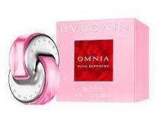 Rrp £100 Unboxed Bottle Of Bvlgari Ominia Pink Sapphire 65Ml Eau De Parfum (Ex Display)