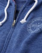 Rrp £625, 25 Brand New Bagged Label Be Zip Front Hoodies