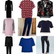 50 Assorted Brand New Clothing Items Sourced From A High End Fashion Retailer. (See Description)