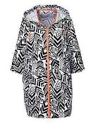 Rrp £750. 30 Brand New Bagged Geo Print Cocoon Festival Jackets. See Description