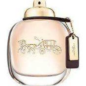 Rrp £70 Unboxed Bottle Of Coach Pour Femme Eau De Parfum 90Ml (Ex Display)