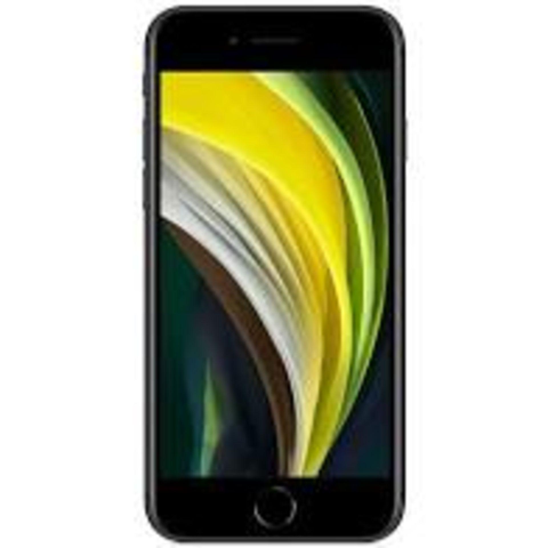 RRP £419 Apple iPhone SE2 64GB Black