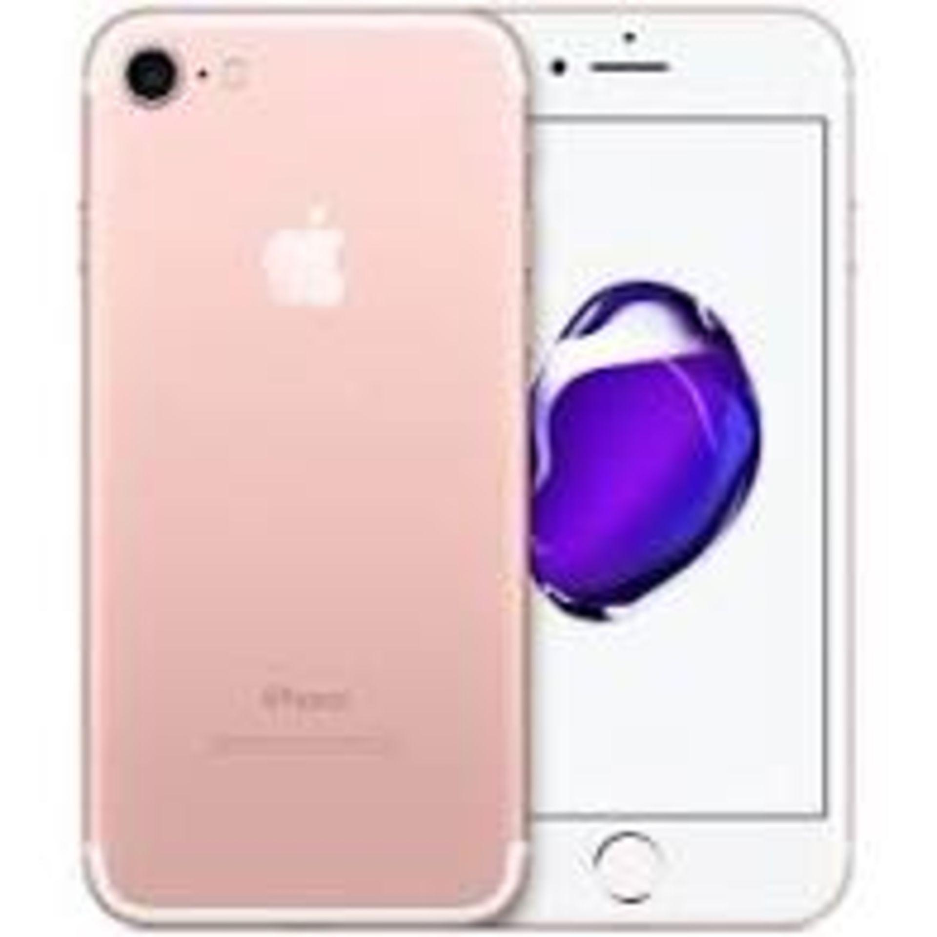 RRP £399 Apple iPhone 7 128GB Rose Gold
