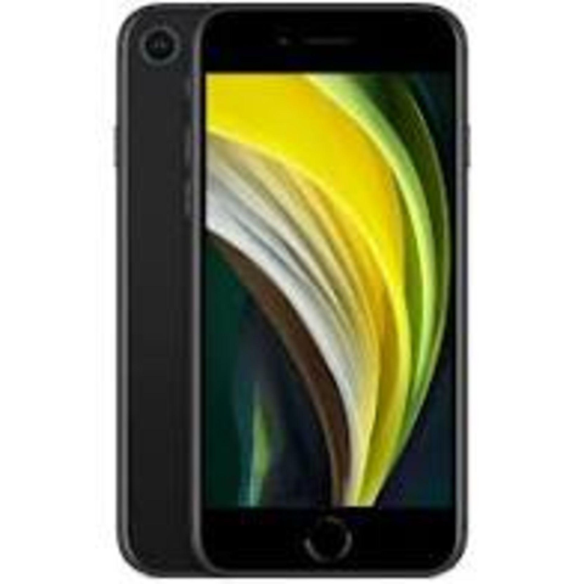 RRP £469 iPhone SE2 128GB Black