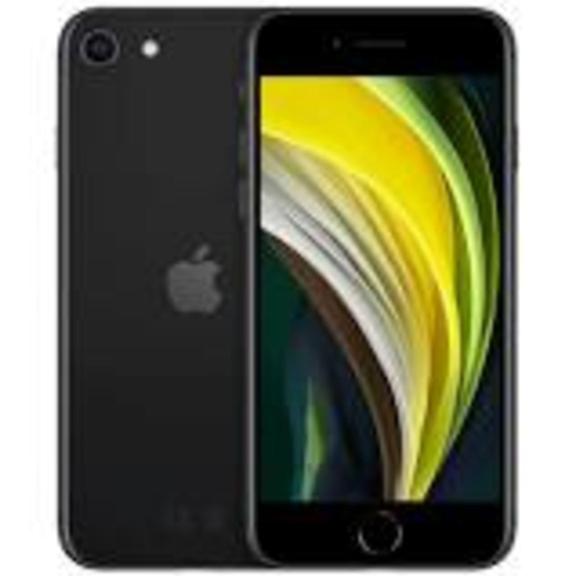 RRP £469 Apple iPhone SE2 128GB Black