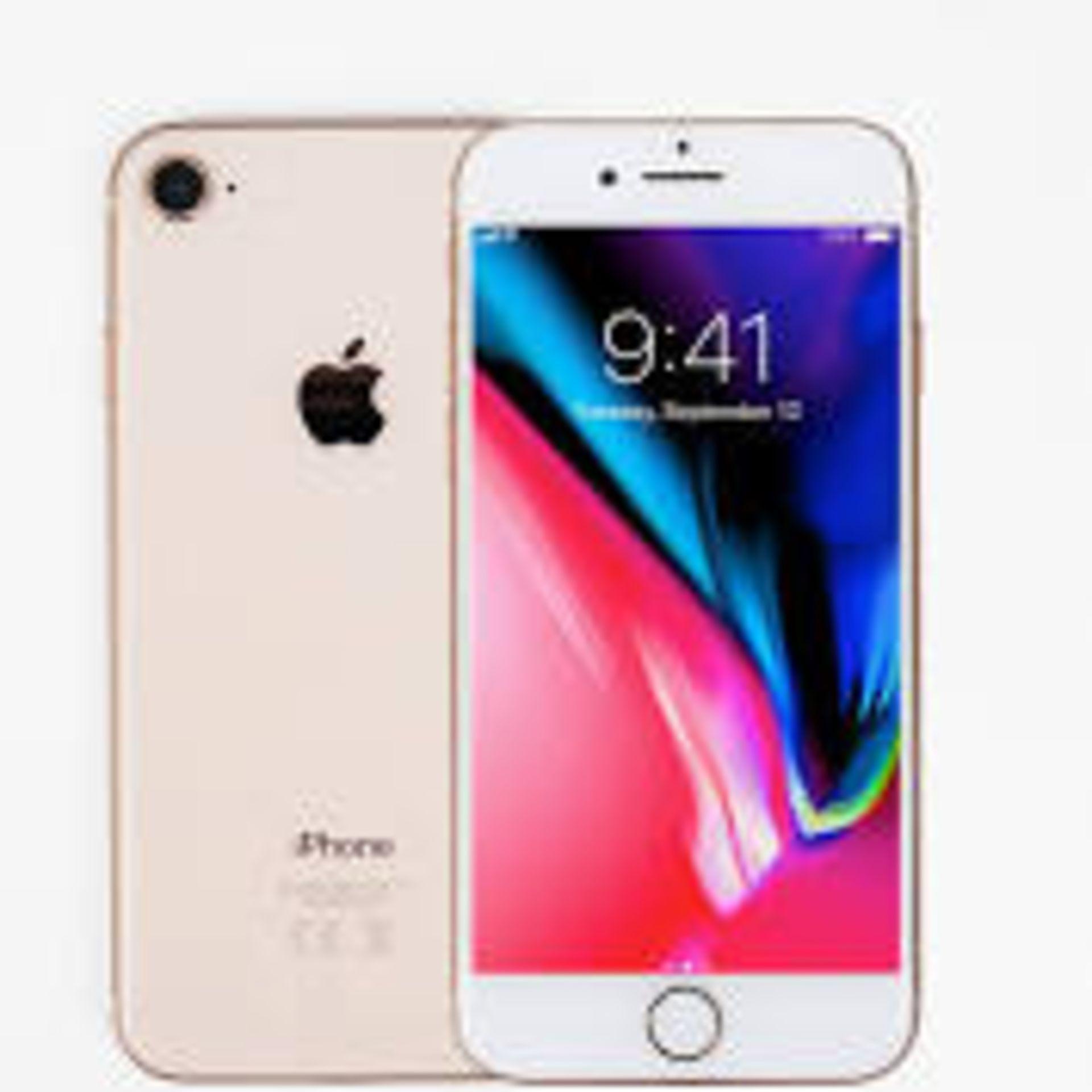 RRP £545 Apple iPhone 8 64GB Gold