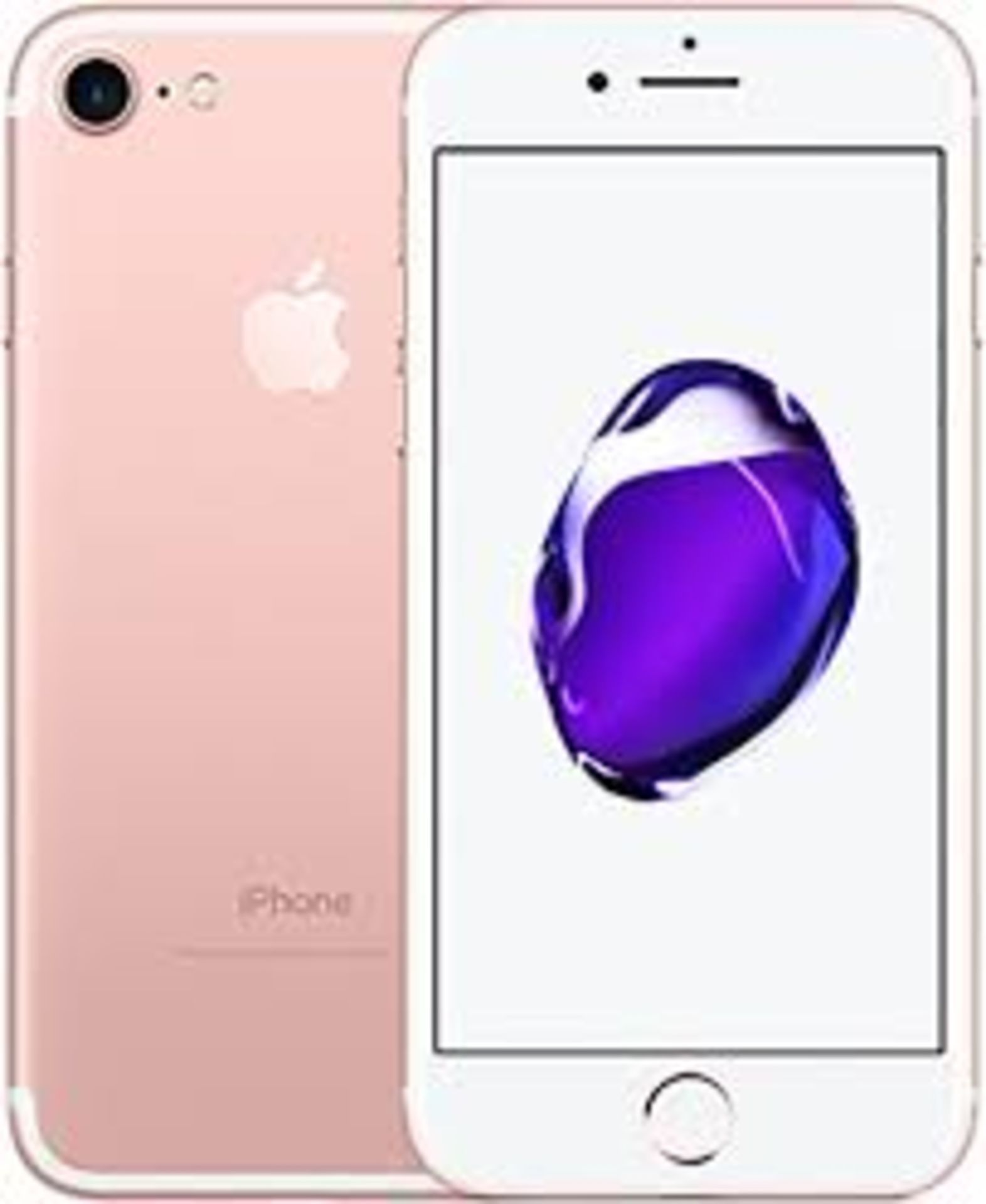 RRP £320 Apple iPhone 7 32GB Rose Gold
