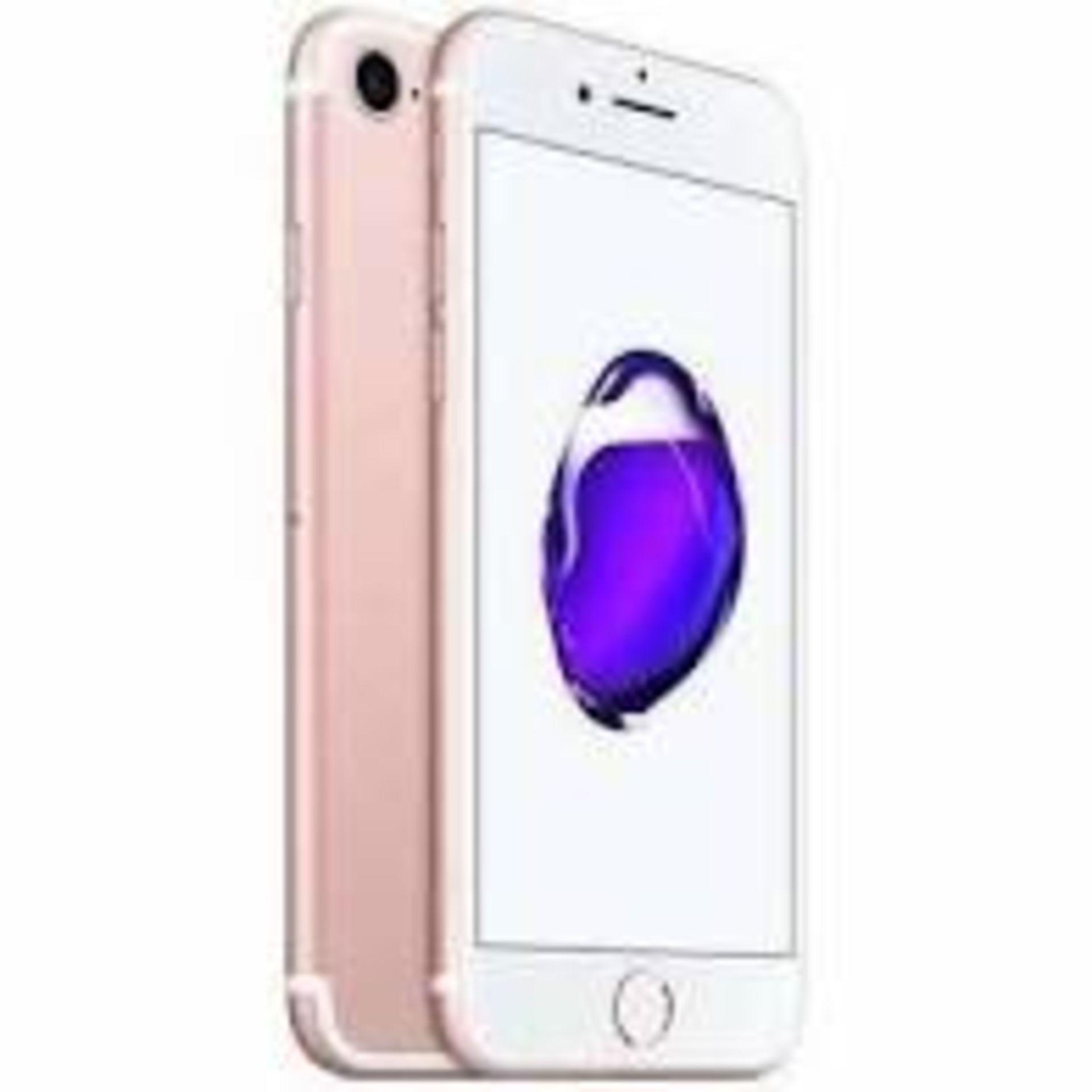 RRP £320 Apple iPhone 7 128GB Rose Gold