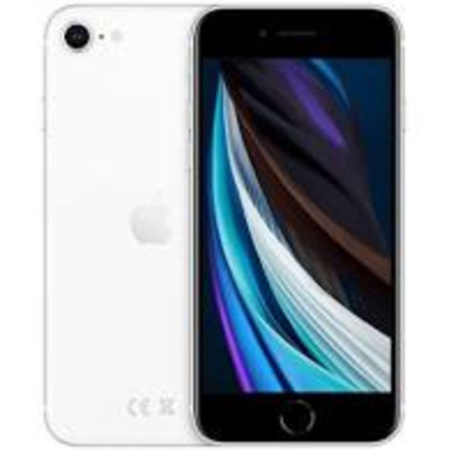 RRP £419 Apple iPhone SE2 64GB White