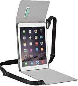 RRP £400 Lot To Contain 20 Brand New Ergo Book Matte Black Ipad Air Bags(Appraisals Available On