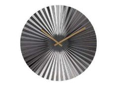 RRP £98 Lot To Contain Bex Mirror & Fan Wall Clock