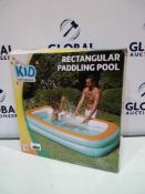 Combined Rrp£100 3 Boxed Kid Connection Rectangular Paddling Pool