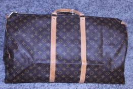 Rrp £1,800 Louis Vuitton Keepall 60 Travel Bag, Monogram Canvas, Vachetta Handles (Production Code