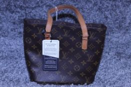 Rrp £1,500 Louis Vuitton Vavin Shoulder Bag, Brown Monogram Coated Canvas, Vachetta Handles,