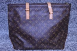 RRP £2,500 Brown Leather Cabaz Mezzo Shoulder Bag From Louis Vuitton Pre-Owned Featuring A