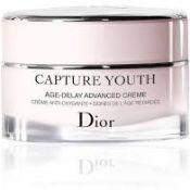 RRP £75 Dior Capture Youth Afe-Delay Advanced Crème
