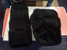 Rrp £185 Box To Contain 13 Brand New Your Baby Universal Velour Inside Black Foot Muffs