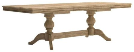 RRP £699 Sourced From Harvey's Furniture Boxed Versailles Extending Dining Table
