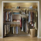 RRP £220 Boxed Closet Maid Clothes Storage System