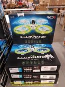 Combined RRP £240 - 8 X THE LAMINATOR LIGHT UP DRONE